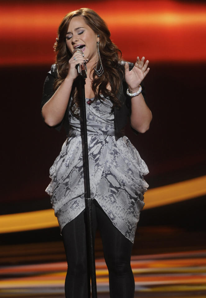 "Skylar Laine performs ""Shameless"" by Billy Joel on ""American Idol."""