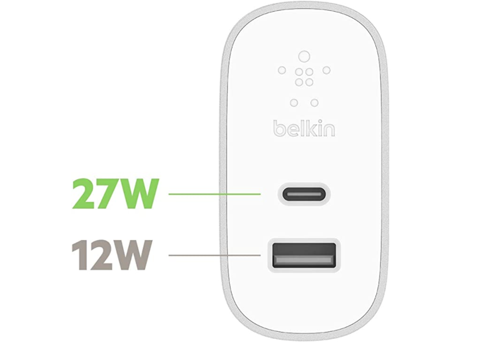 Belkin home charger for iPhone 12. (PHOTO: Amazon)