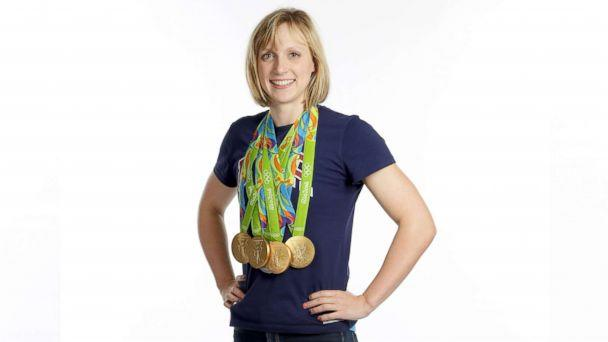 PHOTO: Swimmer Katie Ledecky of the United States poses for a portrait on Day 8 of the Rio 2016 Olympic Games on Aug. 13, 2016 in Rio de Janeiro, Brazil. (Chris Graythen/Getty Images)