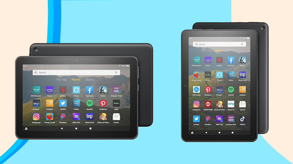 Score an Amazon Fire Tablet bundle for less than $60 at QVC now.