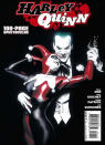 <p>Illustrator extraordinaire Alex Ross did the classic cover for DC's first solo Harley Quinn book in the canon (which the movie gives a nod to during a flashback scene). Her costume remains relatively unchanged from Timm's vision to this point.<i> (Image: DC Comics)</i></p>