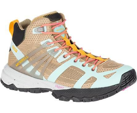 "<h2>Merrell MQM Mid Ace Waterproof<br></h2><br><strong>The Most Colorful</strong><br>Merrell makes a host of fanatically rated-hiking boots, but their Ace waterproof style offered the best combination of customer satisfaction <em>and</em> style, in our humble opinions. With a waterproof composition, sleek profile, and eye-catching color scheme, they're the perfect pair to brighten up your fall.<br><br><strong>The Hype: </strong>4.5 out of 5 stars, 5 reviews on <a href=""https://www.merrell.com/"" rel=""nofollow noopener"" target=""_blank"" data-ylk=""slk:Merrell"" class=""link rapid-noclick-resp"">Merrell</a><br><br><strong>What They're Saying: </strong>""I was in need of new hiking boots, and while comfort is definitely important to me, looks are as well. These caught my eye because they were not brown and did not look clunky. I was pleasantly surprised when I first tried them on how lightweight they were! I did not feel like I had concrete blocks on my feet, and they offered a ton of support. The ankle is not too high and laces hit in the perfect spots. While the shoes are waterproof (tested in wet grass, puddles, under hose) I did find that they took a long time to dry. The water didn't roll off as I expected. I ended up purchasing the Rain and Stain spray to see if that would help with repelling the water better. Overall, happy though!""<em> — Michelle, </em><a href=""https://www.merrell.com/"" rel=""nofollow noopener"" target=""_blank"" data-ylk=""slk:Merrell.com"" class=""link rapid-noclick-resp""><em>Merrell.com</em></a><em> reviewer</em><br><br><strong>Merrell</strong> MQM Ace Mid Waterproof, $, available at <a href=""https://go.skimresources.com/?id=30283X879131&url=https%3A%2F%2Fwww.merrell.com%2FUS%2Fen%2Fmqm-ace-mid-waterproof%2F36290W.html%3Fdwvar_36290W_color%3DJ48998"" rel=""nofollow noopener"" target=""_blank"" data-ylk=""slk:Merrell"" class=""link rapid-noclick-resp"">Merrell</a>"