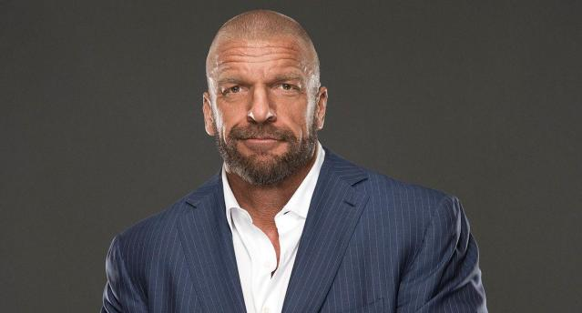 WWE Executive Vice President of Talent, Live Events and Creative, Paul 'Triple H' Levesque. (Photo Courtesy of WWE)