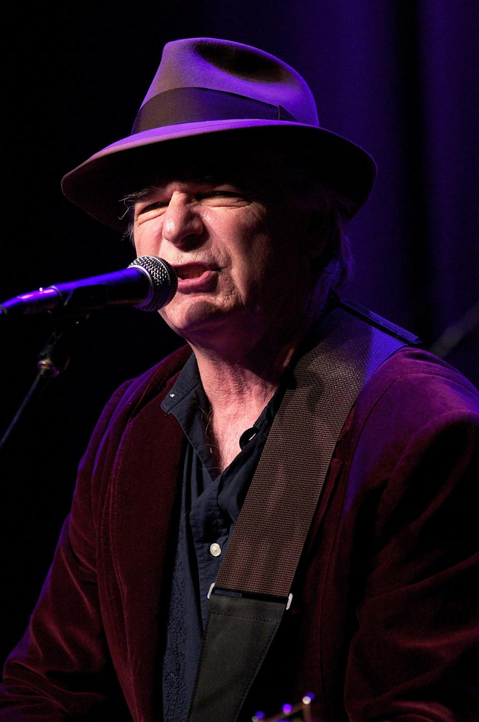 """<p>On Jan. 18, the folk singer <a href=""""https://www.billboard.com/articles/news/8548437/david-olney-nashville-singer-songwriter-dies-onstage-at-71"""" class=""""link rapid-noclick-resp"""" rel=""""nofollow noopener"""" target=""""_blank"""" data-ylk=""""slk:died from a heart attack"""">died from a heart attack</a> while performing on stage at the 30A Songwriters Festival in Florida. He was 71.</p>"""