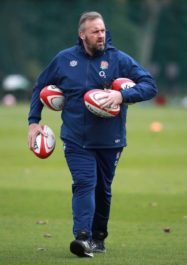 Forwards coach Matt Proudfoot is drilling England's pack for the summer series