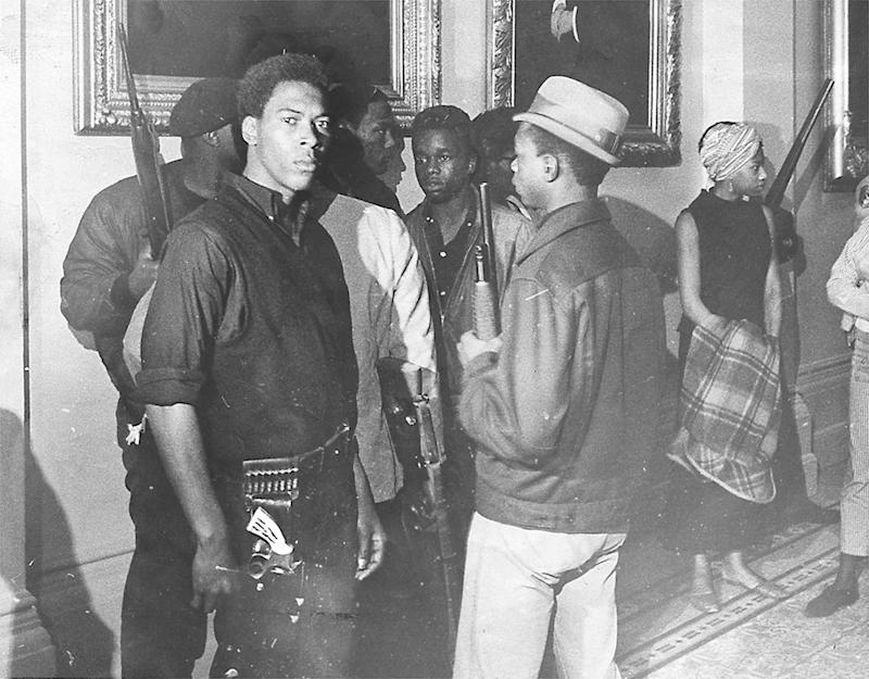 Original Black Panther Bobby Seale Explains the History Behind That Viral Photo of Armed Stacey Abrams Supporters