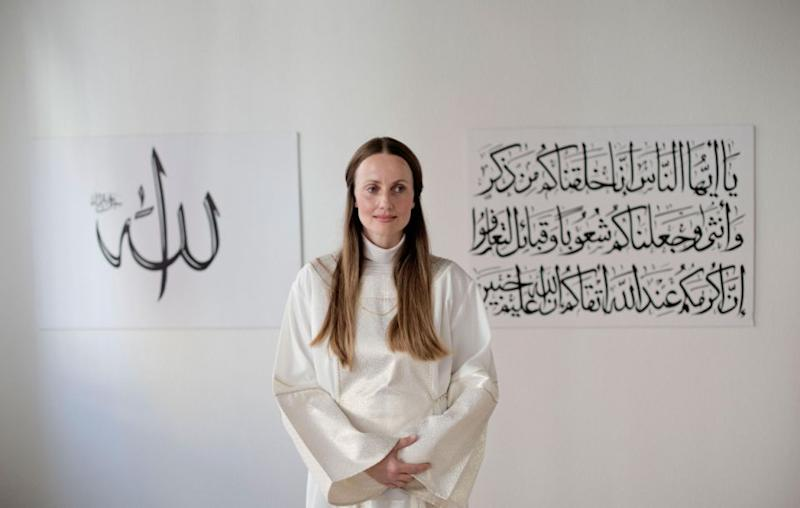 Khankan was not raised Muslim; she came to the faith herself, she says, when it felt like the right thing for her personal spiritual journey. Source: Getty