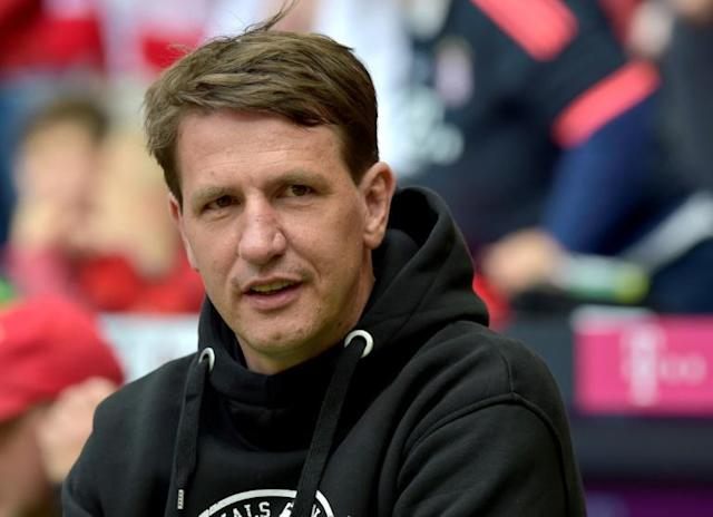 Daniel Stendel got off to the worst possible start to his time as Hearts manager (AFP Photo/GUENTER SCHIFFMANN)