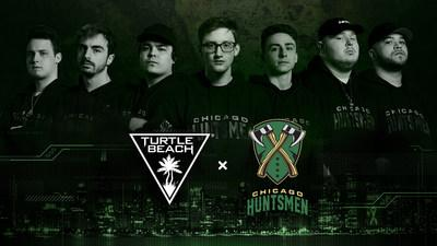 Turtle Beach and the Chicago Huntsmen officially partner up to dominate on the digital battlefields