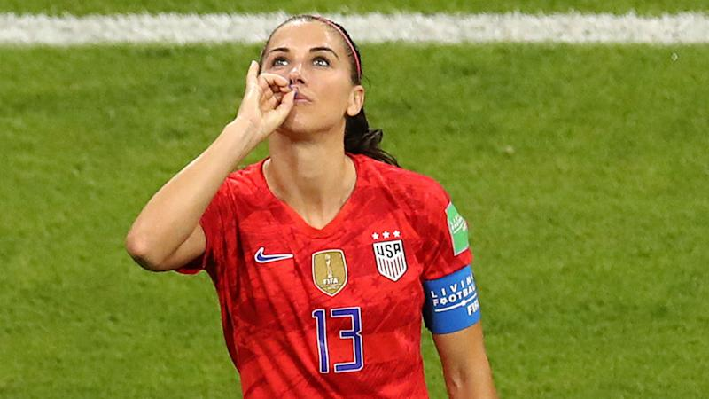 Women S World Cup 2019 Alex Morgan Explains Why She Used