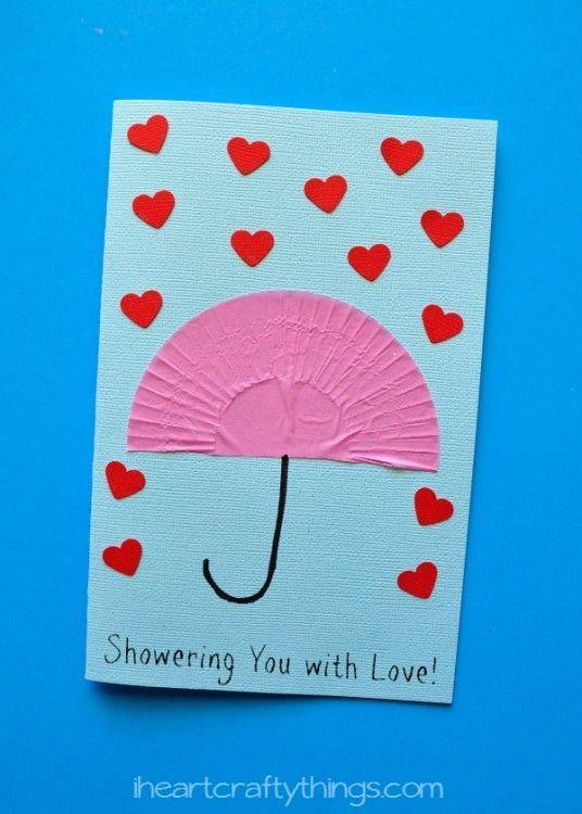 "<p>This homemade Mother's Day card from i Heart Crafty Things is clever enough to be store bought, but simple enough for your toddler to make. A quick trip to the craft store will give you all the supplies you need to ""shower"" Mom with love.</p><p><em><a href=""https://iheartcraftythings.com/showering-you-with-love-mothers-day-card.html"" rel=""nofollow noopener"" target=""_blank"" data-ylk=""slk:Get the tutorial."" class=""link rapid-noclick-resp"">Get the tutorial.</a></em></p>"