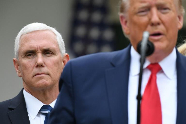 Vice President Mike Pence is coming out from President Donald Trump's shadow during the coronavirus crisis