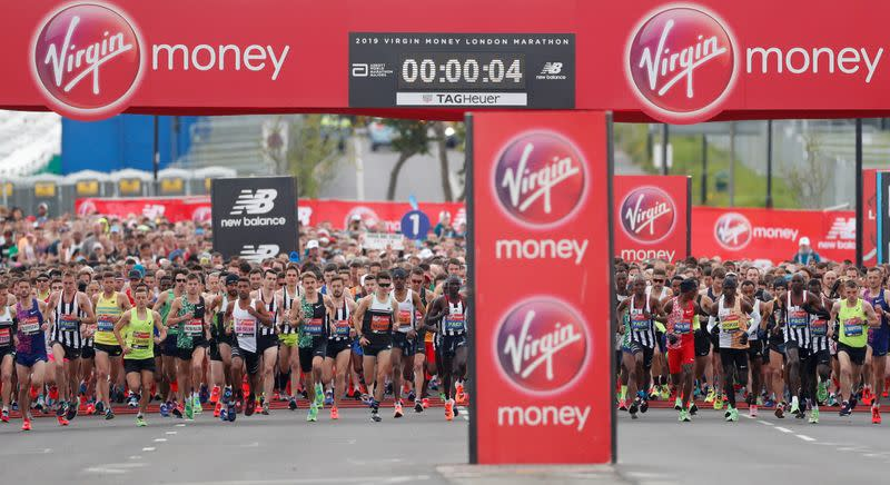 London Marathon mass race cancelled, elite race on