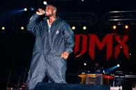 "<p>The rapper discovered hip-hop in his early years and rose to fame in the '90s. <a href=""https://people.com/music/dmx-dead-rappers-memorable-songs/"" rel=""nofollow noopener"" target=""_blank"" data-ylk=""slk:His 1998 single"" class=""link rapid-noclick-resp"">His 1998 single</a> ""Get at Me Dog"" went gold, and his album <em>It's Dark and Hell Is Hot</em> — which featured ""Ruff Ryders' Anthem"" — sold upwards of 5 million copies and debuted at No. 1 on the <em>Billboard</em> 200. His next album, <em>Flesh of My Flesh, Blood of My Blood</em> also debuted at No. 1, and eventually went multi-platinum. </p> <p>He struck gold again in 1999 with the release of his album <em>...And Then There Was X,</em> which featured the mega-hit single ""Party Up (Up in Here),"" his first Top 10 hit on the R&B charts. </p>"