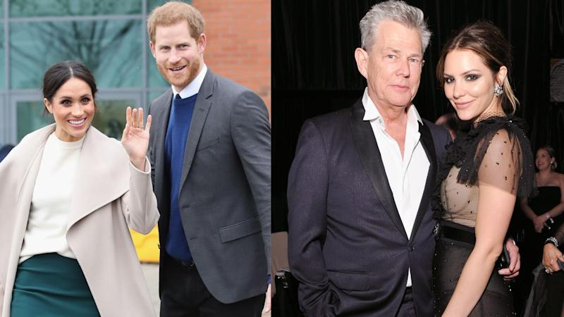 The Duke and Duchess of Sussex were spotted on a double date with David Foster and Katherine McPhee. (Image via Getty Images)