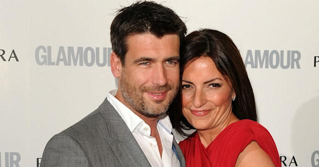 Matthew Robertson and Davina McCall were married for 17 years (Getty)