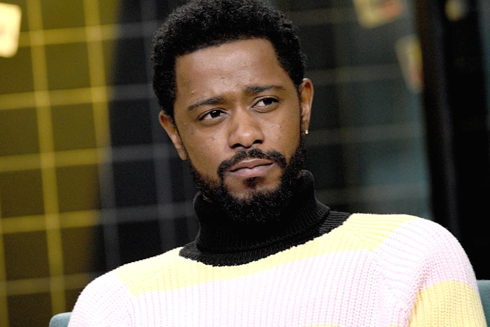 """NEW YORK, NEW YORK - FEBRUARY 10: Actor Lakeith Stanfield visits the Build Series to discuss the film """"The Photograph"""" at Build Studio on February 10, 2020 in New York City. (Photo by Gary Gershoff/Getty Images)"""