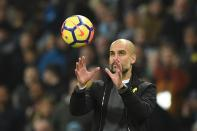 The Ordem V was a record breaker. It certainly was for Manchester City anyway as they lifted the Premier League trophy for a third time, breaking the 100 points mark on the way. (Photo credit should read OLI SCARFF/AFP/Getty Images)