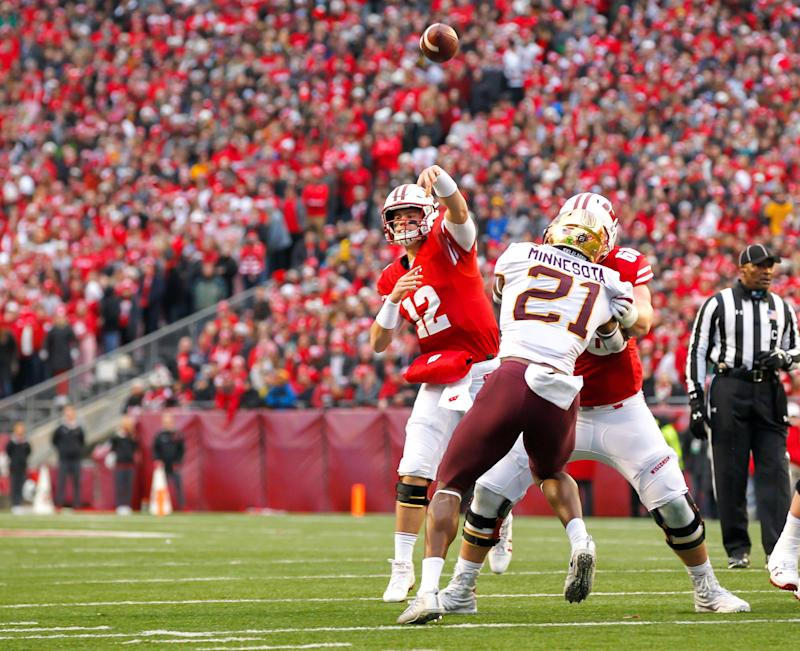 Former Wisconsin quarterback Alex Hornibrook transferring to Florida State