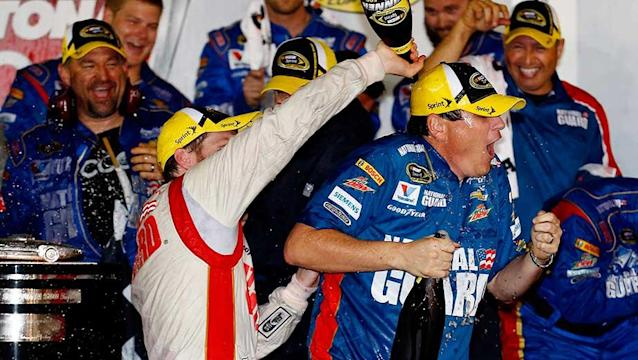 Dale Earnhardt Jr. owns Daytona once and for all with the finest race of his life