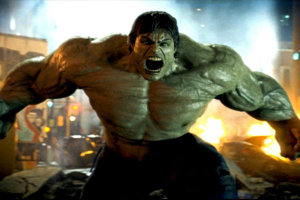 The first MCU Green Goliath, from 2008's The Incredible Hulk.