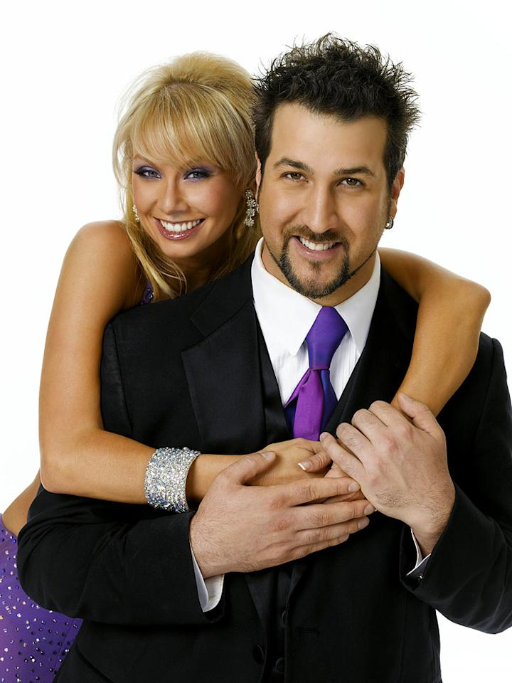 "The musician/actor/star of Broadway, <a href=""/joey-fatone/contributor/49640"">Joey Fatone</a> teams up with professional dancer <a href=""/kym-johnson/contributor/2234337"">Kym Johnson</a> for Season 4 of <a href=""/dancing-with-the-stars/show/38356"">Dancing with the Stars</a>"