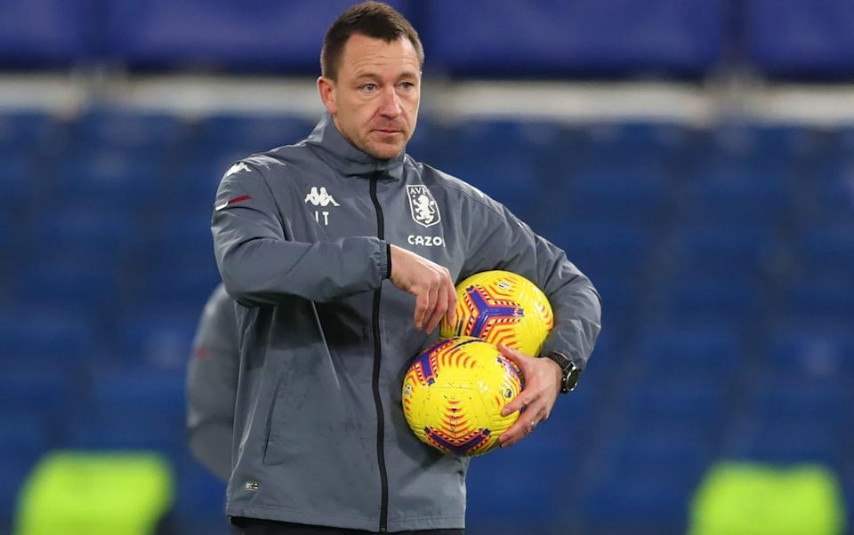 John Terry's decision to leave Aston Villa is first step towards his ultimate goal - managing Chelsea - GETTY IMAGES
