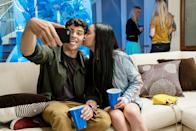 """<p>Hopeless romantic Lara Jean writes love letters to her crushes that are never meant to be seen. When the letters get leaked, she ends up teaming up with Peter Kavinsky, their high school's lacrosse golden boy, in a fake relationship scheme that ends up a lot more real than either of them bargained for.</p> <p>Watch <a href=""""http://www.netflix.com/title/80203147"""" class=""""link rapid-noclick-resp"""" rel=""""nofollow noopener"""" target=""""_blank"""" data-ylk=""""slk:To All the Boys I've Loved Before""""><strong>To All the Boys I've Loved Before</strong></a> on Netflix now.</p>"""