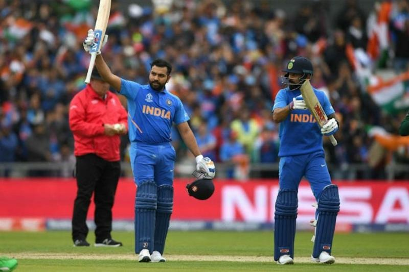 July 6, 2019   Rohit Sharma Becomes Only Batsman to Score Five Centuries in a World Cup