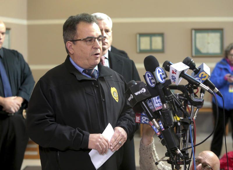 The Latest: Man who took hostages at UPS facility is dead