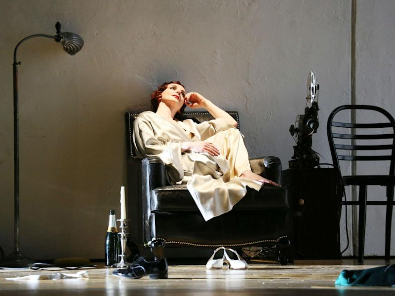 Sarah Tynan as Partenope in ENO's 'Partenope': Donald Cooper