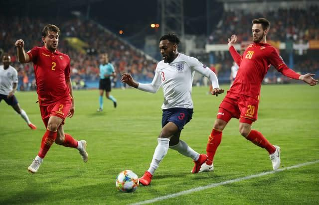 Danny Rose and some England team-mates were subjected to racist abuse in Montenegro last year (Nick Potts/PA)