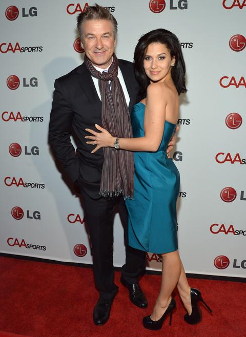 <p>Alec Baldwin and wife Hilaria Thomas announced this week that they were expecting their first child together! Hilaria is 26 years Alec's junior but what's age but a number? Alec was married to previous wife Kim Basinger from 1993 to 2002 and have a daughter together called Ireland. It's worth noting that at 54 today Alec will be in his early 70s by the time his latest child graduates from High School!</p>