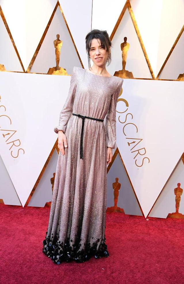 <p>Sally Hawkins attends the 90th Academy Awards in Hollywood, Calif., March 4, 2018. (Photo: Getty Images) </p>