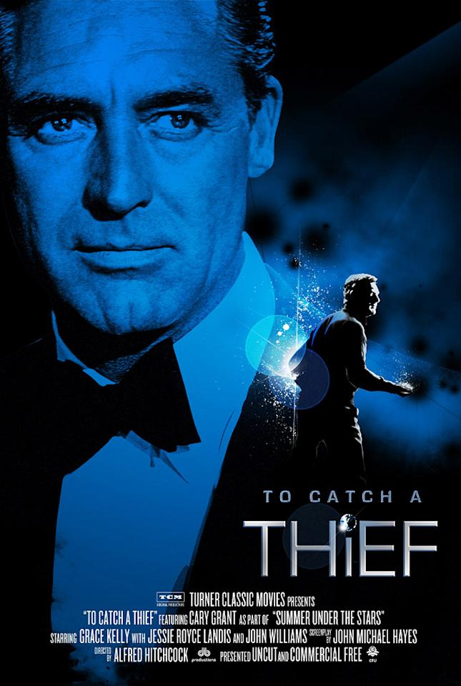 "<a href=""http://movies.yahoo.com/movie/contributor/1800013760"">Cary Grant</a> - <a href=""http://movies.yahoo.com/movie/1800128030/info"">TO CATCH A THIEF</a> (1955)   Turner Classic Movies' ""Summer Under the Stars"" Festival"