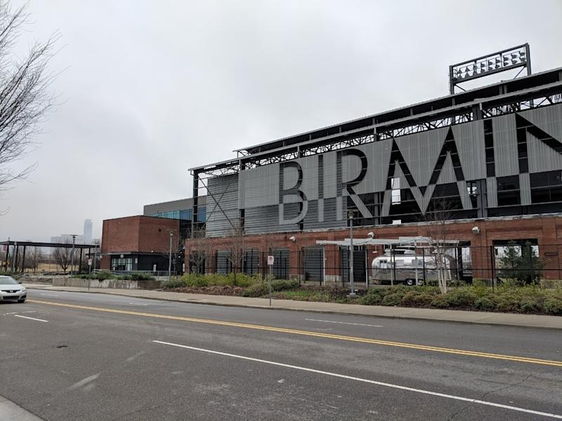 Regions Field will not host any Birmingham Barons games in 2020, as the Minor League Baseball season has been cancelled.