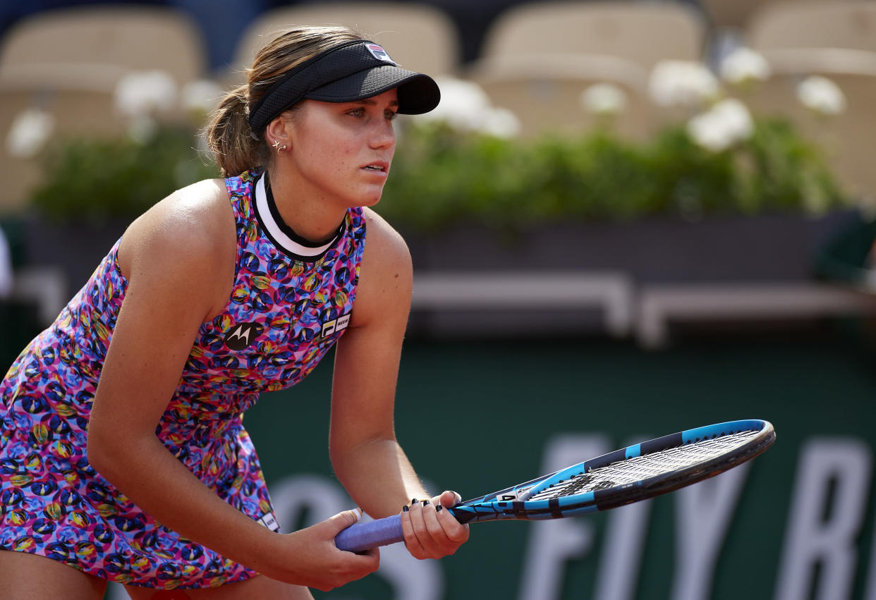 Sofia Kenin at the French Open