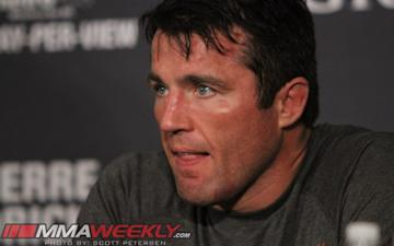 Chael Sonnen failed two random drug tests this spring.