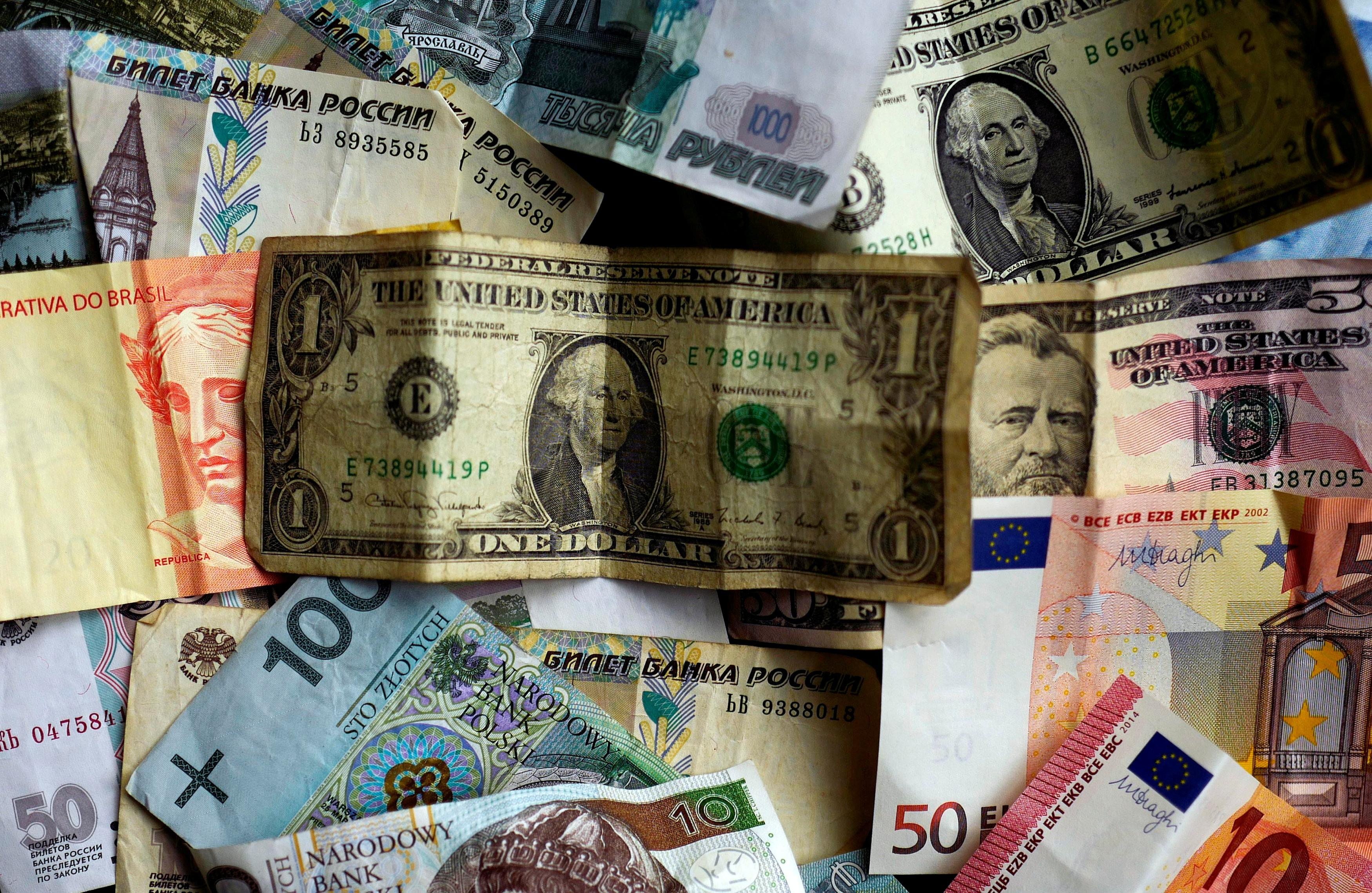 The U.S. dollar has weakened against most major currencies.
