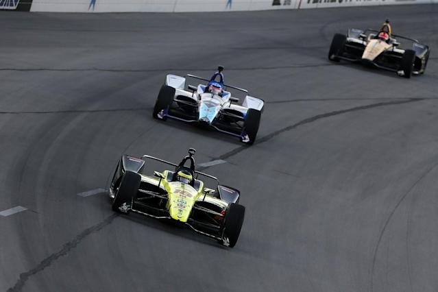 "Sebastien Bourdais says IndyCar's 2018 universal aerokit is not to blame for the ""over the top difficult"" racing on ovals this season"