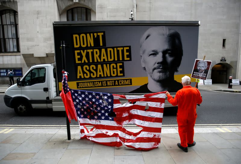 Trump targeting WikiLeaks' Assange as 'political enemy', UK court told