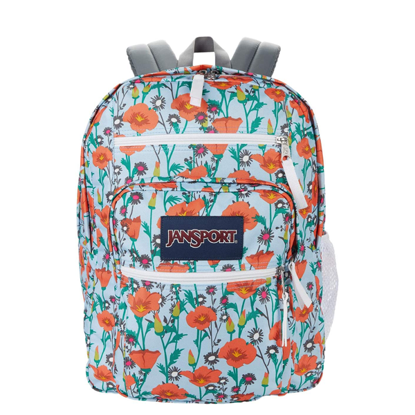 """This bright, floral backpack will bring cheer to even the most dreary of Monday mornings. $47, Amazon. <a href=""""https://www.amazon.com/JanSport-Student-Poppy-Garden-Size/dp/B084ZVW6RV/ref=asc_df_B084ZVW6RV/"""" rel=""""nofollow noopener"""" target=""""_blank"""" data-ylk=""""slk:Get it now!"""" class=""""link rapid-noclick-resp"""">Get it now!</a>"""