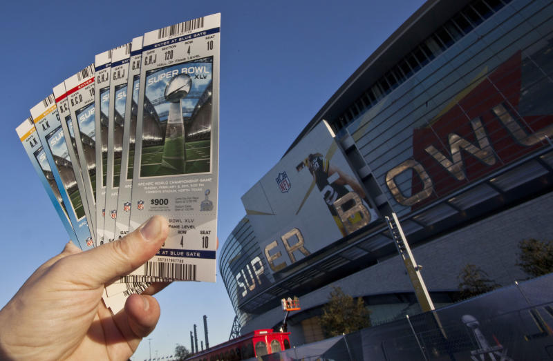The secondary ticket market has been a relatively new source of income for the NFL. (AP)