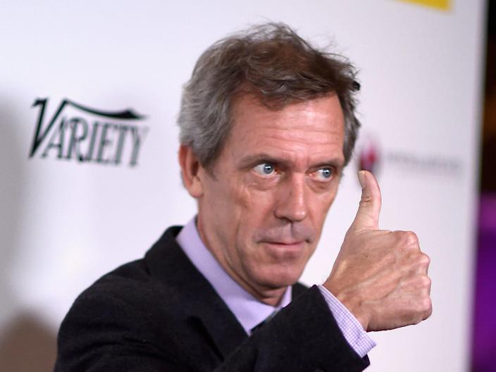 Hugh Laurie Getty Images