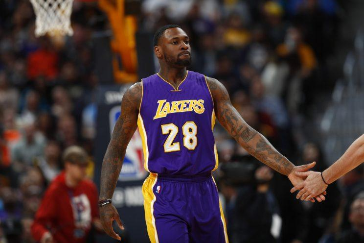 Tarik Black has played three NBA seasons. (AP)