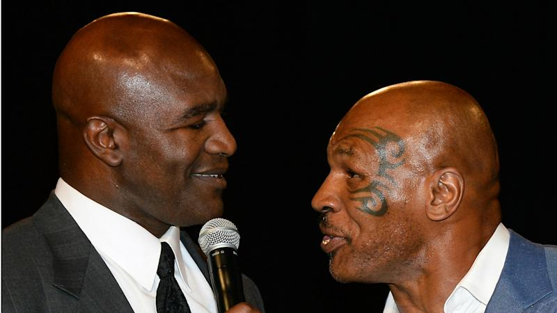 Holyfield open to charity bout against Tyson