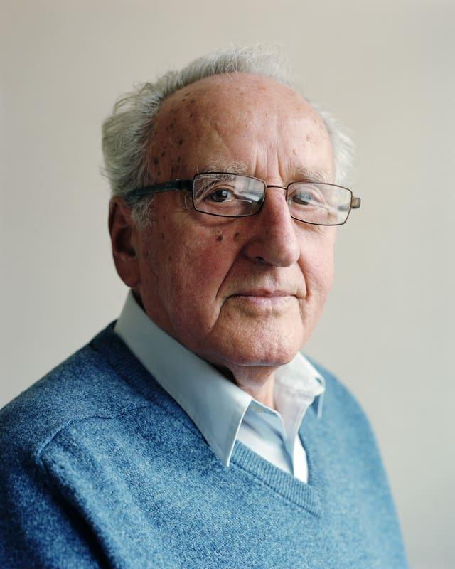 Ivor Perl, 88, now living in north London, who was taken to Auschwitz as a 12-year-old boy