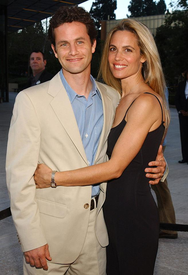 Kirk Cameron and wife Chelsea Noble at the C2 Cafe in Century City, California (Photo by Jean-Paul Aussenard/WireImage)