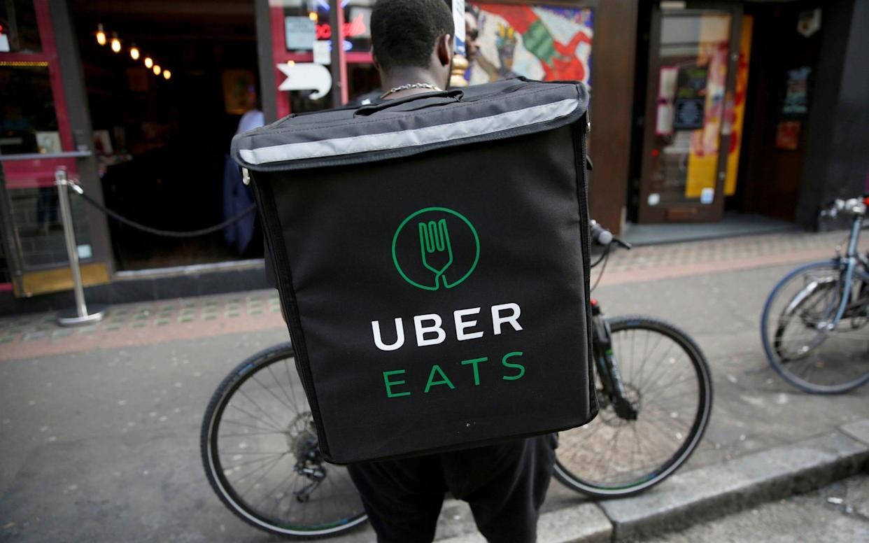 Uber has doubled down on its push into food delivery in Europe, the Middle East and Africa, tripling its headcount in the region and signaling the importance of the UberEats business as it prepares for a potential IPO. (UberEats)