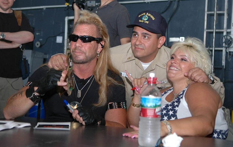 Duane 'The Dog' Chapman and Beth
